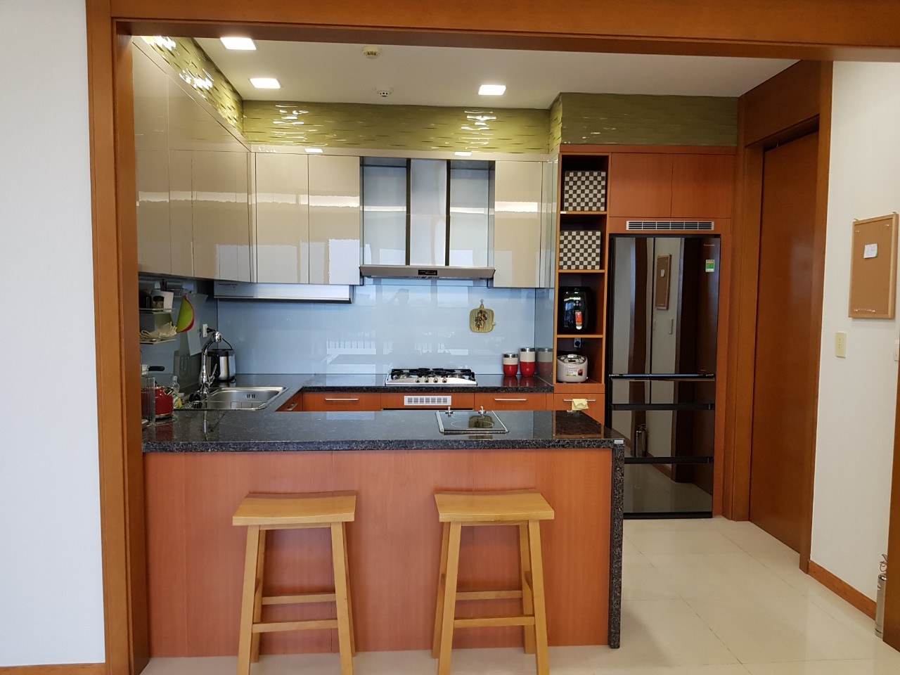 Xi Apartment Nice Furniture Good View in Thao Dien D206096 (3)