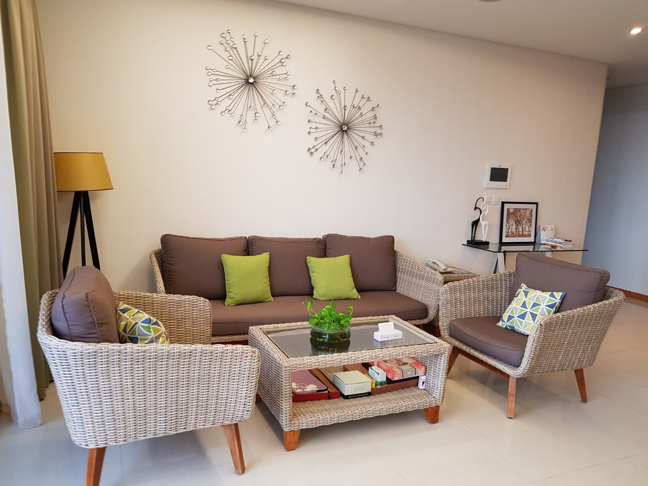 Xi Apartment Nice Furniture Good View in Thao Dien D206096 (12)