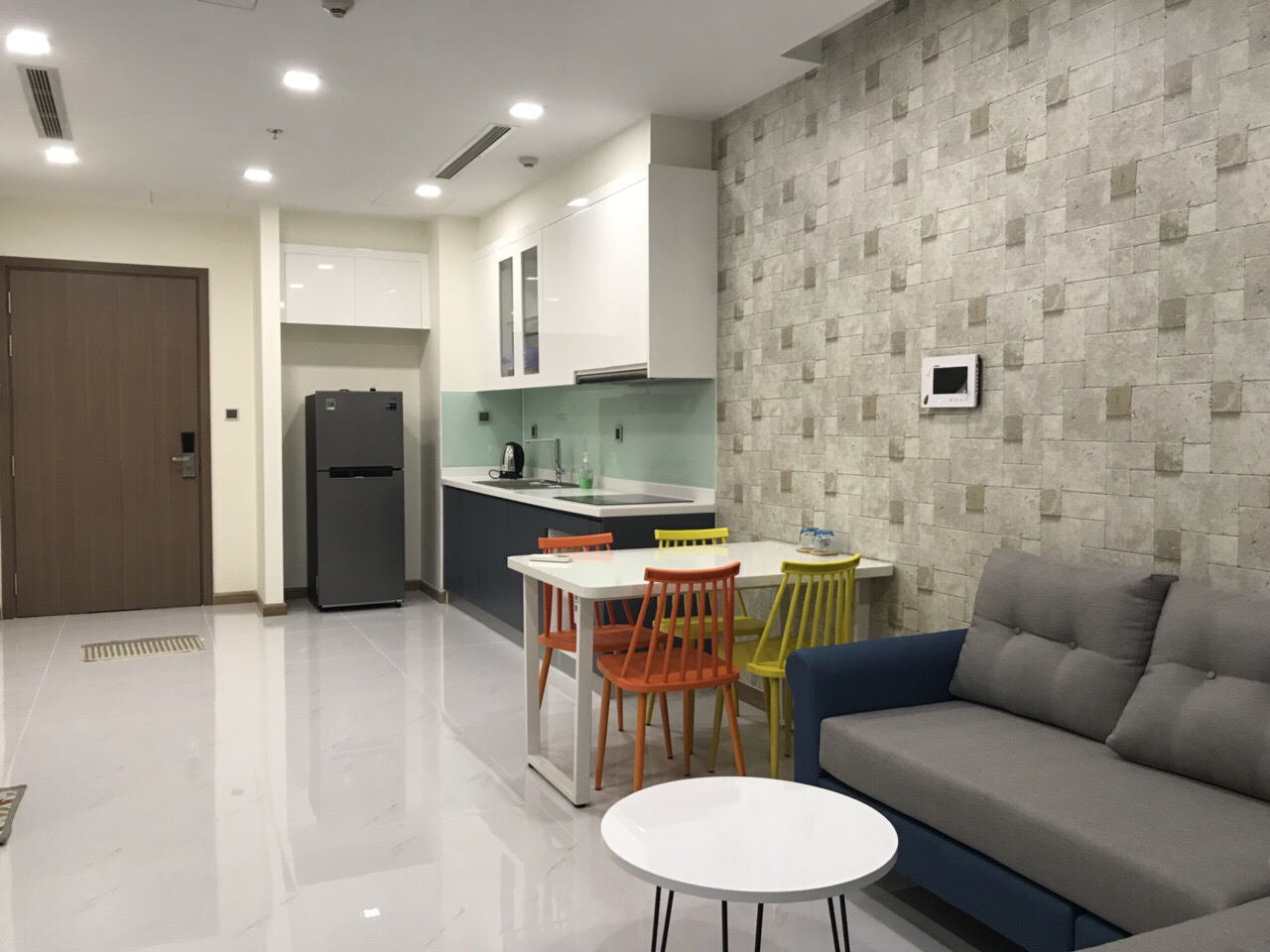 serviced apartment for rent in binh thanh district BT99097 (5)