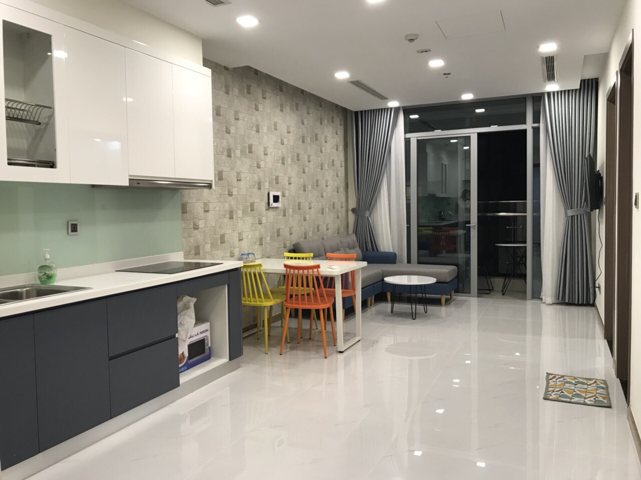 serviced apartment for rent in binh thanh district BT99097 (7)