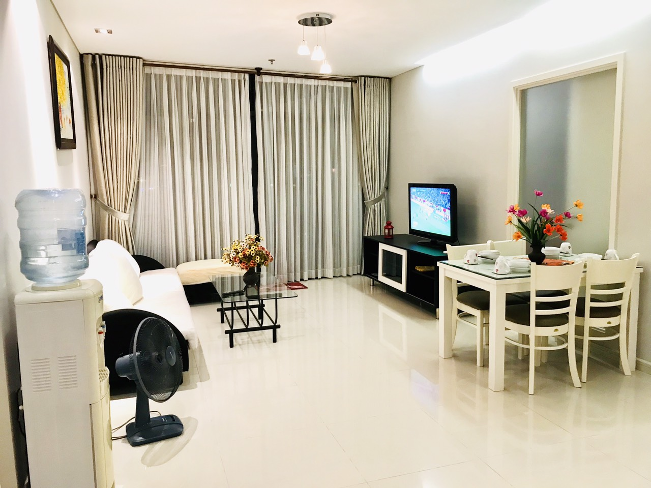 city garden apartment for rent in binh thanh district hcmc BT102040(10)
