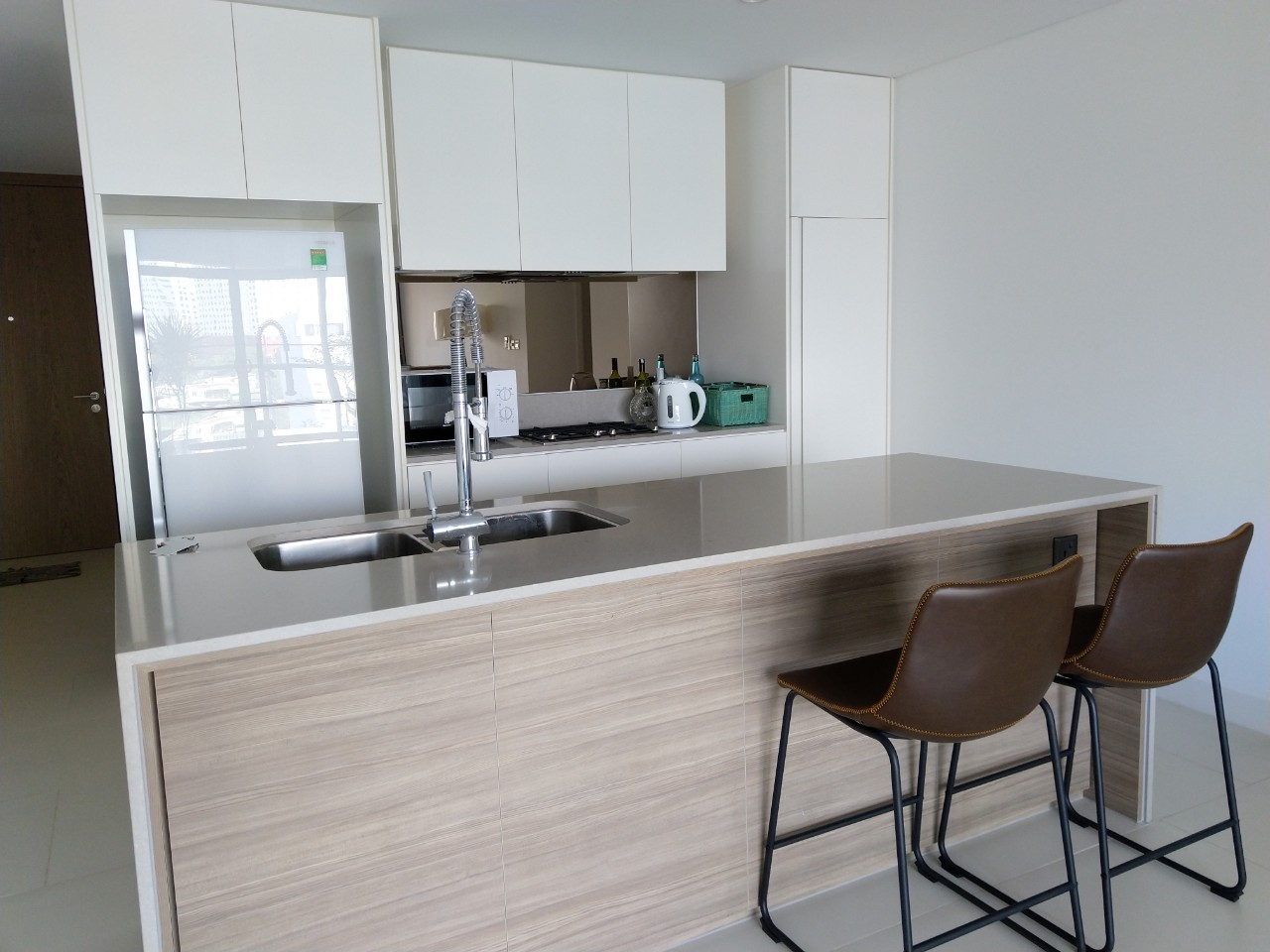 city garden apartment for rent in binh thanh district hcmc BT102807